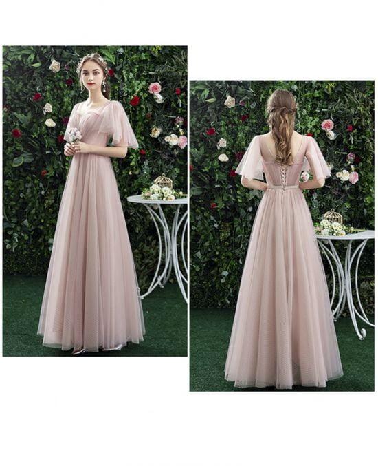 áo cưới nhẹ nhàng ANN -124