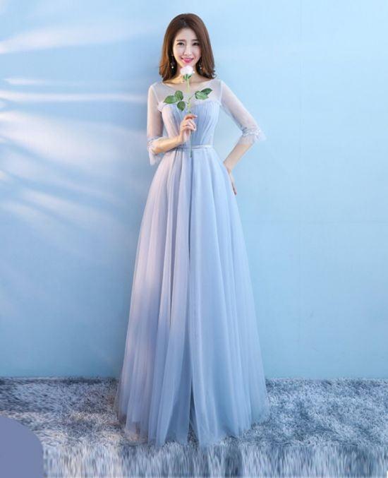 áo cưới nhẹ nhàng ANN -214